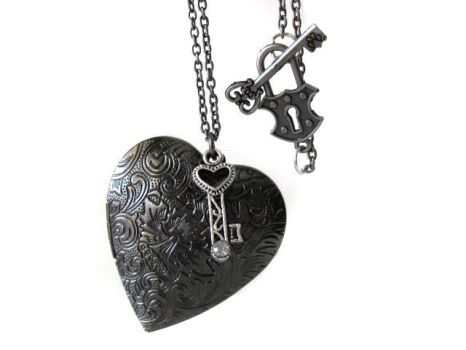 Heart Locket Necklace by pila12903