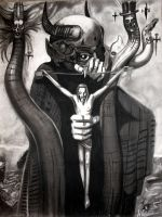 Giger's Satan I by AbsyntheDreams
