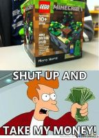 ::minecraft lego meme:: by x-Andy-Sixx-x