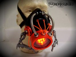 ''Synthetic Locust'' Cybernetic Alien gas mask by TwoHornsUnited