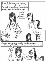 MLP Comic: Pony Form Outrage by Chelseam2