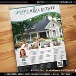 Better Real Estate Flyer Template by deiby
