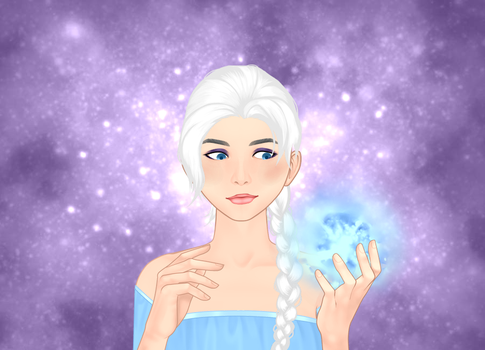 Seer of ice by Mike-the-dabbler