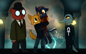 [NITW] YOU'RE BACK!! (w/ speedpaint) by Scribbleshadows