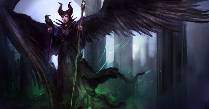 Maleficent: the most METAL disney movie to date by theDURRRRIAN