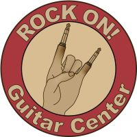 Guitar Hand Logo by Pixeleater