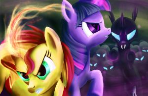 Under Siege by Fox-Moonglow