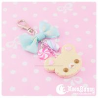 Cookie bear Charm by CuteMoonbunny