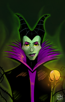 Maleficent by HetteMaudit
