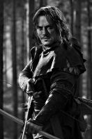 Luke Evans as Bard the Bowman by EroticOven