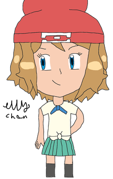 Point Commission: Alola, Serena! by EllyTheTomodachi