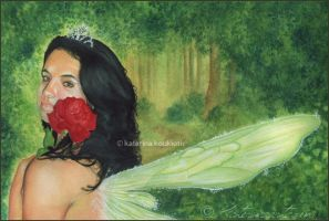 Spring Queen by Katerina-Art