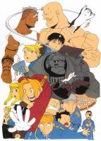 Fma Comic Colored by OliviaHolder2203
