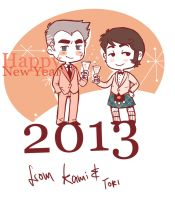 Happy New Year 2013 by kamidog