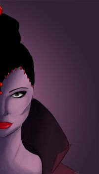 The Evil Queen by stonkART