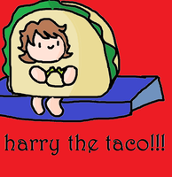 Harry the Taco by thejellybeanposse