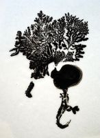 Ink on Glue by Fortelegy