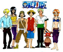 One Piece--colored by Skyfurrow