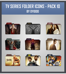 TV Series Folder Icons - Pack 10 by DYIDDO