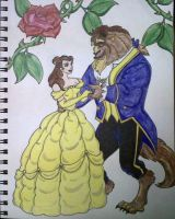 Beauty and the Beast by HideTheKnives