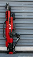 Red N7 Stampede 7 by JohnsonArms