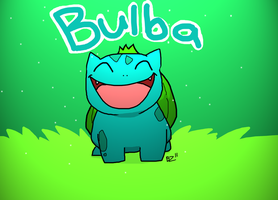Bulbasaur by Jurassiczalar