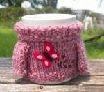Mabel Sweater Mug Cosy - Butterfly by TheSweaterProject