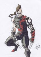 Daken Alt. Costume_colored by Jason-FH-Art