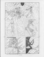 Spider-man vs. Mysterio page 4 by RoyPrince