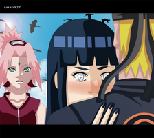 Naruto and Hinata and Sakura Jealousie  by Sarah927