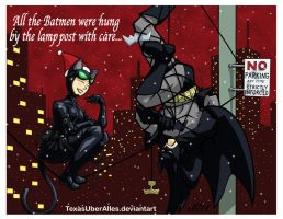 All The Batmen Were Hung By The LampPost With Care by TexasUberAlles