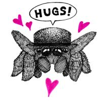 Jumping Spiders Love Hugs by ginsengi