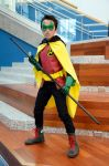 Damian Wayne at Big Wow! by FloresFabrications