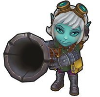 League of Legends: Tristana 4 by MissMaddyTaylor