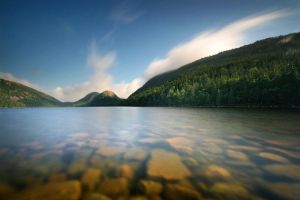 Jordan Pond by tfavretto