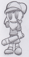 OH LOOK IT'S THE GUY WHO ISN'T NESS by MetallicMiniboss