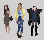 Fashion Sketches by Lydiamay