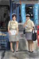 japanese women by tombru