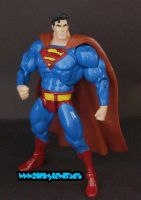"Custom 6"" Superman by rickyscomics"