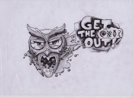 Get the fu*k out! by VieglaUzvediba