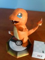 Charmander papercraft by two-wisemen