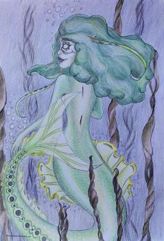 Mermaid series: 4 by LiseWasTaken