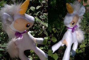 Unicorn Plushie by Trinkety