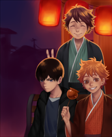 Haikyuu - Happy New Year! by Fishiebug