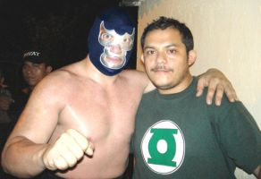 blue demon mi gran idolo by chuyman
