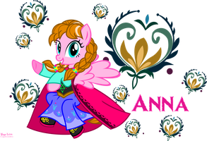 Princess Anna of Marendelle by MeganLovesAngryBirds