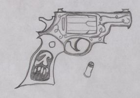 Black Magic Pistol by Bodhi-The-Wicked