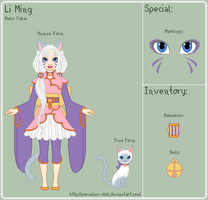 IY - Li Ming Reference Sheet by porcelian-doll