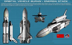 Shuttle Buran and Energia ortho [new] [update] by unusualsuspex