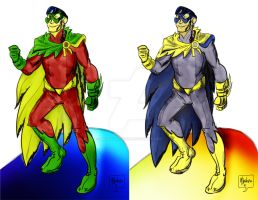 Earth 2 Robin Redesign by mannycartoon